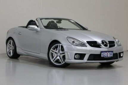 2010 Mercedes-Benz SLK R171 MY10 55 AMG Silver 7 Speed Automatic G-Tronic Convertible Bentley Canning Area Preview