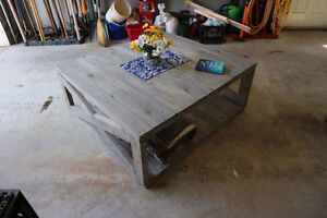 Classic/Rustic custom solid wood coffee table | Quality |