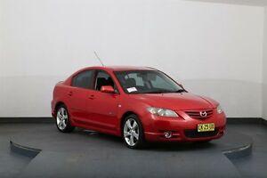 2004 Mazda 3 BK SP23 Red 5 Speed Manual Sedan Smithfield Parramatta Area Preview