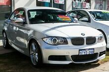 2008 BMW 135I E82 Sport Steptronic Silver 6 Speed Sports Automatic Coupe Glendalough Stirling Area Preview