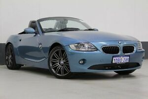 2005 BMW Z4 E85 2.5I Blue 5 Speed Auto Steptronic Roadster Bentley Canning Area Preview