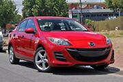 2010 Mazda 3 BL10F1 Neo Red 6 Speed Manual Sedan Glenelg Holdfast Bay Preview