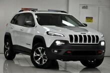 2015 Jeep Cherokee KL MY15 Trailhawk (4x4) Bright White 9 Speed Automatic Wagon Chatswood West Willoughby Area Preview