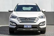 2015 Hyundai Santa Fe DM2 MY15 Active White 6 Speed Sports Automatic Wagon Victoria Park Victoria Park Area Preview