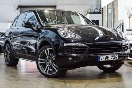 2013 Porsche Cayenne 92A MY13 Diesel Tiptronic Black 8 Speed Sports Automatic Wagon Port Melbourne Port Phillip Preview
