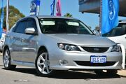 2009 Subaru Impreza G3 MY09 RS AWD Spark Silver 4 Speed Sports Automatic Hatchback Willagee Melville Area Preview