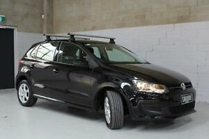 2013 Volkswagen Polo Black Sports Automatic Dual Clutch Hatchback Knoxfield Knox Area Preview