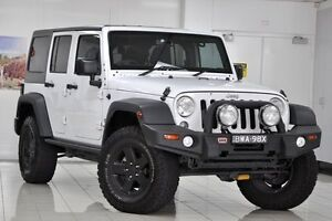 2015 Jeep Wrangler Unlimited JK MY16 Sport (4x4) White 5 Speed Automatic Softtop Chatswood West Willoughby Area Preview