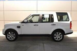 2015 Land Rover Discovery Series 4 L319 MY16 TDV6 White 8 Speed Sports Automatic Wagon Rockhampton Rockhampton City Preview
