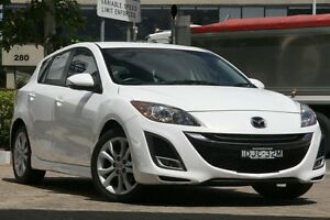 2010 Mazda 3 BL 10 Upgrade SP25 White 5 Speed Automatic Hatchback Killara Ku-ring-gai Area Preview