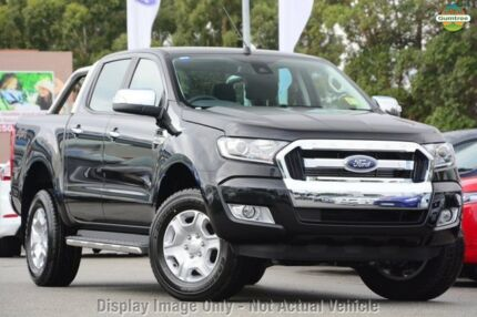 2015 Ford Ranger PX MkII XLT Double Cab Cool White 6 Speed Manual Utility Yeerongpilly Brisbane South West Preview