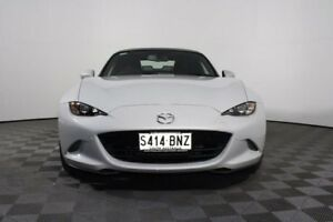 2016 Mazda MX-5 ND GT SKYACTIV-Drive White 6 Speed Sports Automatic Roadster