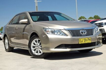 2013 Toyota Aurion GSV50R AT-X Magnetic Bronze 6 Speed Sports Automatic Sedan Blacktown Blacktown Area Preview