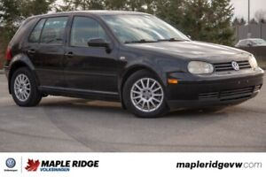 2006 Volkswagen Golf GLS SUPER LOW KM, GREAT CONDITION!