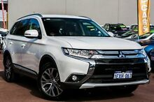 2015 Mitsubishi Outlander ZK MY16 XLS 2WD White 6 Speed Constant Variable Wagon Cannington Canning Area Preview