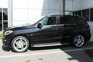 2012 Mercedes-Benz ML250 W166 BlueTEC 7G-Tronic + Black 7 Speed Sports Automatic Wagon Hilton West Torrens Area Preview