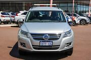 2011 Volkswagen Tiguan 5N MY11 125TSI DSG 4MOTION Silver 7 Speed Sports Automatic Dual Clutch Wagon Cannington Canning Area Preview