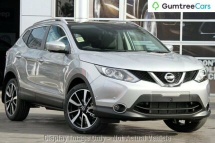 2017 Nissan Qashqai J11 TI Platinum 1 Speed Constant Variable Wagon