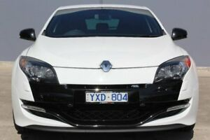 2012 Renault Megane III D95 R.S. 250 Cup Trophee White 6 Speed Manual Coupe