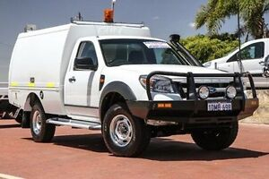 2010 Ford Ranger PK XL White 5 Speed Manual Cab Chassis Spearwood Cockburn Area Preview