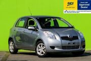 2006 Toyota Yaris NCP91R YRS Silver, Chrome 5 Speed Manual Hatchback Ringwood East Maroondah Area Preview