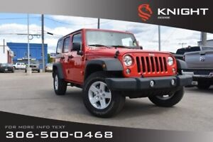 2017 Jeep Wrangler Unlimited Sport *$4,500 Worth of Adds*