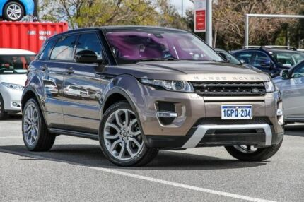 2015 Land Rover Range Rover Evoque Brown Sports Automatic Wagon Welshpool Canning Area Preview