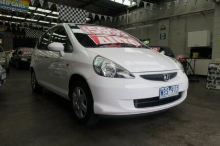 2007 Honda Jazz MY06 GLi Continuous Variable Hatchback Mordialloc Kingston Area Preview