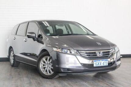 2013 Honda Odyssey RC MY14 VTi Grey 7 Speed Constant Variable Wagon