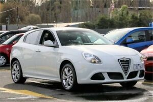 2014 Alfa Romeo Giulietta Series 0 MY13 Progression White 6 Speed Manual Hatchback Ringwood East Maroondah Area Preview
