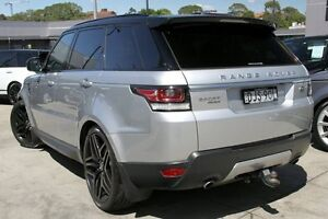 2014 Land Rover Range Rover LW Sport 3.0 SDV6 HSE Silver 8 Speed Automatic Wagon Petersham Marrickville Area Preview