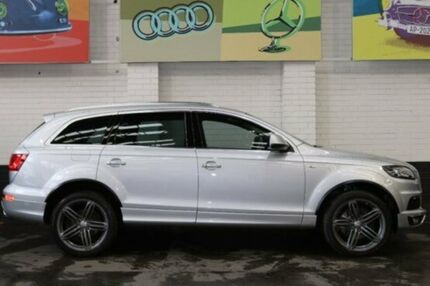 2013 Audi Q7 MY13 TDI Tiptronic Quattro Ice Silver 8 Speed Sports Automatic Wagon Southbank Melbourne City Preview