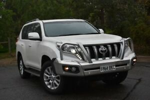 2016 Toyota Landcruiser Prado GDJ150R Kakadu White 6 Speed Sports Automatic Wagon St Marys Mitcham Area Preview