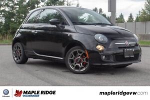 2013 Fiat 500 Sport LOCAL, ONLY 47,774 KILOMETRES, NO ACCIDENTS!