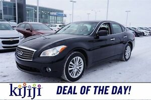 2012 Infiniti M37 AWD Accident Free,  Navigation (GPS),  Leather