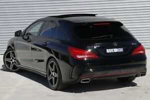 2015 Mercedes-Benz CLA250 Black Sports Automatic Dual Clutch Wagon Ringwood East Maroondah Area Preview