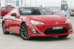2013 Toyota 86 ZN6 GT Red 6 Speed Manual Coupe Gymea Sutherland Area Preview