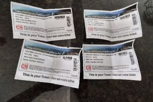 Tickets!  CN tower for 2 adults and 2 children