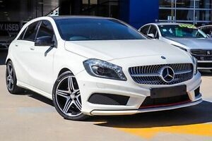 2013 Mercedes-Benz A250 W176 Sport D-CT White 7 Speed Sports Automatic Dual Clutch Hatchback Myaree Melville Area Preview