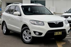 2009 Hyundai Santa Fe CM MY09 SLX White 5 Speed Sports Automatic Wagon Gosford Gosford Area Preview