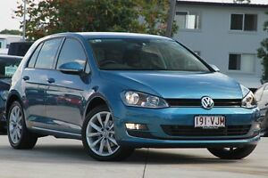 2015 Volkswagen Golf VII MY15 103TSI DSG Highline Blue 7 Speed Sports Automatic Dual Clutch Kedron Brisbane North East Preview