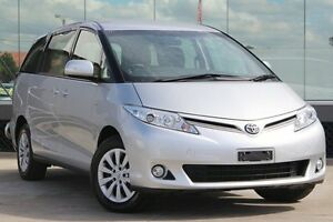 2013 Toyota Tarago ACR50R MY13 GLi Silver Pearl 7 Speed CVT Auto Sequential Wagon Old Guildford Fairfield Area Preview