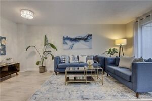 4+1 Bed / 3 Bath Fully New Reno'd Townhouse 1760 Sq Ft