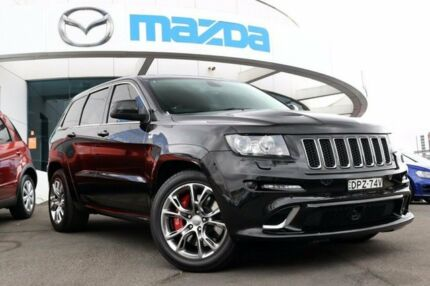 2012 Jeep Grand Cherokee WK MY2013 SRT-8 Black 5 Speed Sports Automatic Wagon Liverpool Liverpool Area Preview