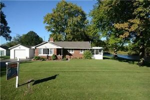 Over An Acre Of 3 Br Bungalow with Sun Room on 127x382' Lot Beau