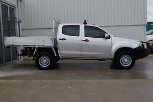 2012 Isuzu D-MAX TF MY12 SX (4x4) Silver 5 Speed Manual South Maitland Maitland Area Preview