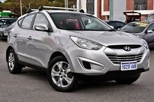 2012 Hyundai ix35 LM MY11 Active Silver 5 Speed Manual Wagon Myaree Melville Area Preview