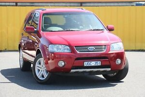 2006 Ford Territory SY Ghia AWD Red 6 Speed Sports Automatic Wagon Heatherton Kingston Area Preview