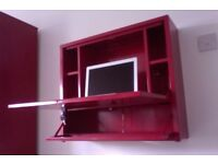 IKEA PS Laptop Workstation - post box red