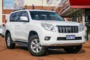 2009 Toyota Landcruiser Prado GRJ120R GXL White 5 Speed Automatic Wagon Fremantle Fremantle Area Preview